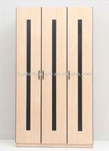 Bedroom closet wood wardrobe cabinets,modern laminate wardrobe designs