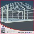 toit rond en acier entrepôt