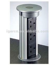 Milan pop-up kitchen multi socket HZM-03L with CE
