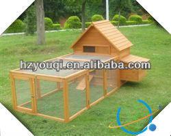 Outdoor Chicken Running Coop wood chicken kennel for sale