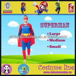 Superman Superhero Cotton Halloween Costume