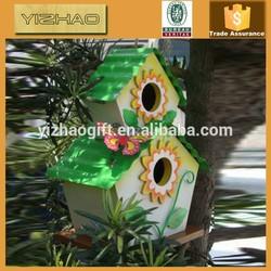 Eco-friendly FSC Hanging Wooden Bird Cage, Wooden Bird House, Bird Cage