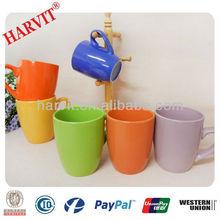 2015 Hot selling Cheap price Colorful Glazed Ceramic Stoneware Mugs
