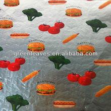 hamburger and sandwich aluminum foil packing