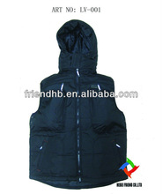 padded outdoor fishing winter vest