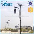 Yüksek parlaklık 20w/70W/3.5m alüminyum dökümdür bahçe güneş ışığı 3.5m yüksek bahçe güneş ışığı