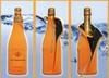 Promotional gift custom neoprene champagne bottle cooler,holder