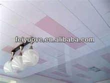 our classical normal print pvc plastic building material/pvc panel for ceiling and wall