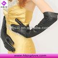Groß-mode dünne schaffell frauen billig lange lederhandschuhe