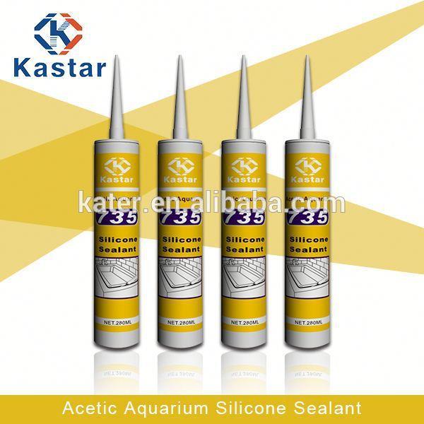 Tanque de água selante, selante de silicone