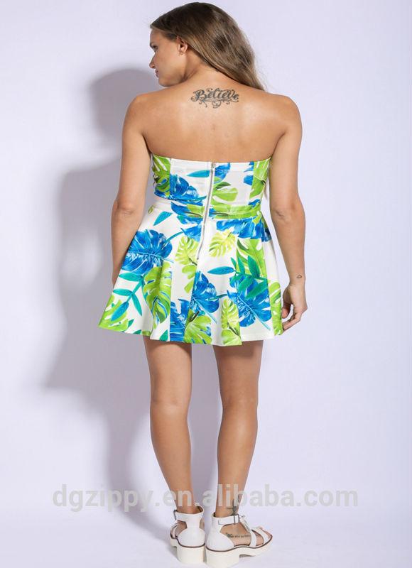 2015 china wholesale Y-Back Flounce Dress latest dress designs for latest dress
