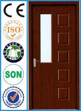 interior frosted glass luxury door bathroom door glass insert wood interior door
