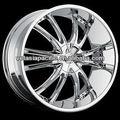 En alliage d'aluminium chrome. tuner. mag roue 20 22 24 26 pouces. bossini