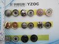 2014 caliente de la venta de metal de calidad complemento botones