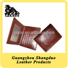 Manufacture Price Custom Leather Wallet as Promotional Gift