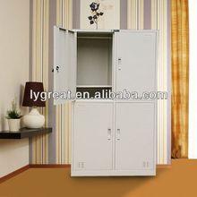 four door locker/4 compartment hpl locker/(GLT-10-070)