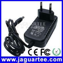 EU Plug Type CCTV Power Supply 12V 2A Adapter