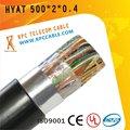 ( 0.4/0.5mm) blindés câble téléphonique remplie de gelée machine à écrire électronique
