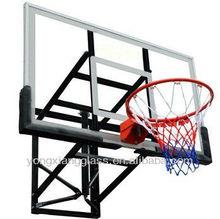 wall mounting glass basketball backboard