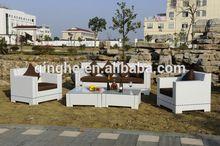 QHA-2014 Garden Line Patio Furniture & PE Wicker Sofa Set & Outdoor Rattan Set