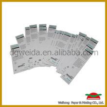 china supplier custom paper hang tag wholesale