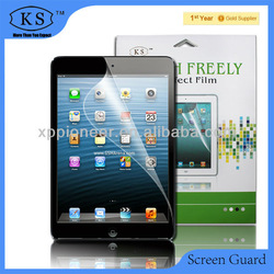 for Apple ipad screen protector/guard for Iphone IPADmini,high clear & high quality