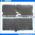 Hot sale Laptop keyboard for apple macbook pro A1278 in stock