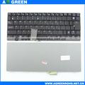 venda quente do teclado do portátil para asus eee pc 1005ha em estoque