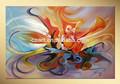 pinturas em tela para decoração