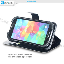 Universal cellphone case, smart phone flip leather case