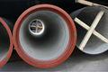 Push- em conjunto t- tipo de tubo de ferro dúctil k9