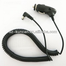 Sprial coil cigar cable car cigar jack DC connector lead coil cable 3meter