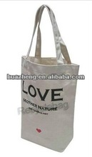 cotton eruro tote bag with long handle