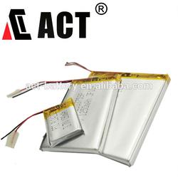 3.7v li-ion polymer battery 3000mah lithium battery 555590 lipo battery