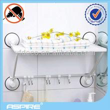suction cup bathroom towel rack