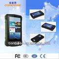 """sin cable, de mano, tableta de androide 3G, 7 """"PC lector de tarjetas RFID, lector de huellas digitales accidentado"""