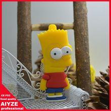 Wholesale Fashion Cute Cartoon Simpsons Homer 4GB USB 2.0 Flash Memory Drive Stick