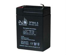 CE approved 6V 4.5Ah sealed Lead Acid Battery for emergency light