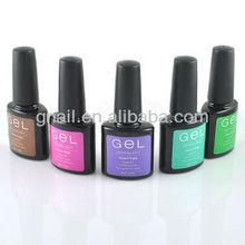 MSDS approved uv soak off gel nail polish for natural nails