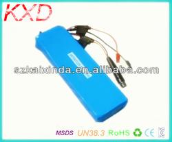KXD rechargeable 36v 10ah electric bike li ion battery