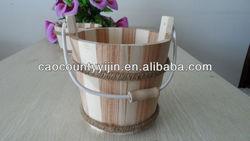 wooden bucket for sale