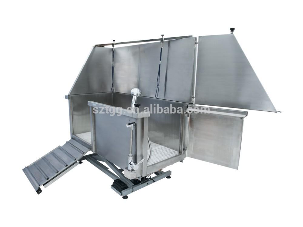 Hot sale Electric Stainless Steel Dog Bathtub Pet grooming Bathtub SBA10