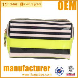 Pvc leather makeup waterproof bag China Manufacturer