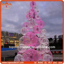 New Model ball tree christmas decorations art