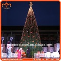 pvc iluminada neon de árvores de natal