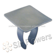 Makeup Mixing Palette Stainless Steel Polish / Satin