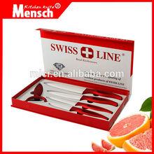 High Quality Zirconia Cutting Ceramic Kitchen Knife set with ceramic handle
