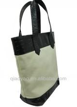 New design fashion men and women canvas tote bag