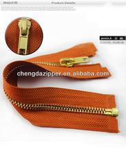 hot sale gold zipper slider