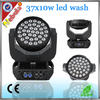 37*10W RGBW 4 in 1 LED Moving Head Wash Light